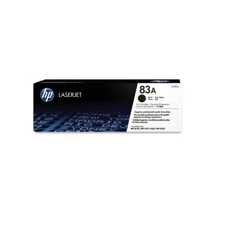 HP CF283A 83A Black Laserjet Toner Cartridge Laserjet Printer Supplies