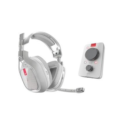 Bluemouth Interactive A40TR + MixAmp Pro - White Headset1