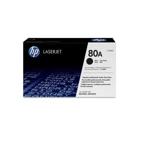 HP 80A Black CF280A Laserjet Toner Cartridge
