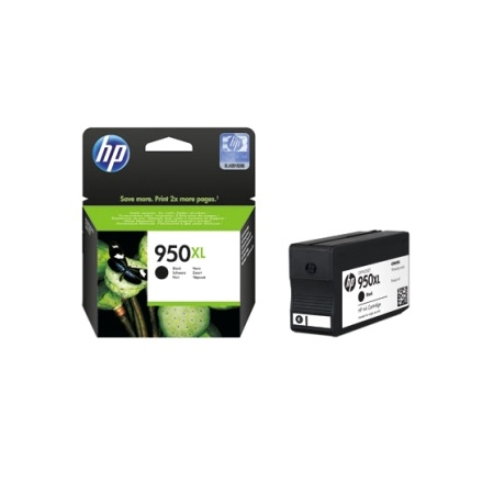 HP 950XL Black Ink Cartridge CN045AA Inkjet Printer Supplies
