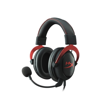 Kingston HyperX Cloud II Black Red Gaming Headset3