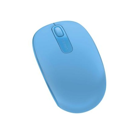 Microsoft Cyan Blue Wireless 1850 Mobile Mouse