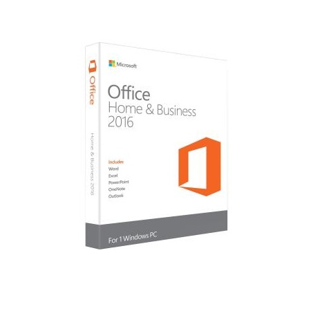 Microsoft Office 2016 Home & Business Medialess Productivity Software