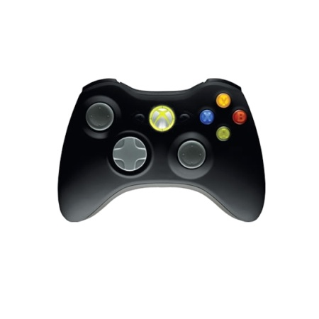 Microsoft Wired Xbox 360 Controller Black Gamepad