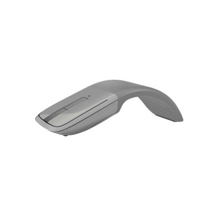 Microsoft Gray Arc Touch Bluetooth Mouse