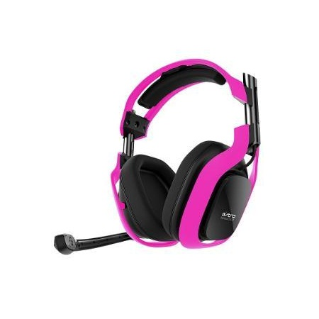 Bluemouth Astro A40 Neon PC Edition Pink Headset1