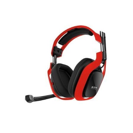 Bluemouth Astro A40 Neon PC Edition Red Headset
