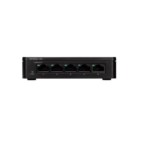 Cisco SF95D-05 5-Port 10-100 Desktop Switch