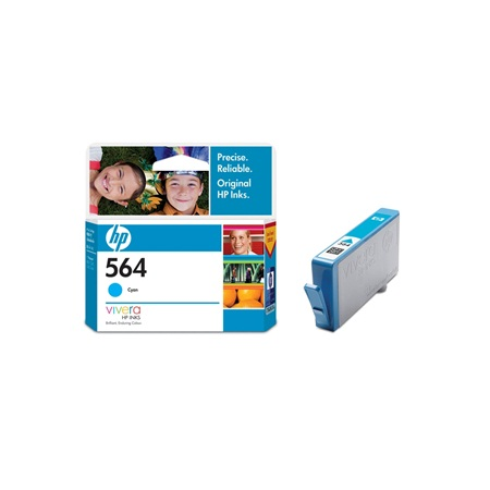 HP 564 CB318WA CYAN Ink Cartridge
