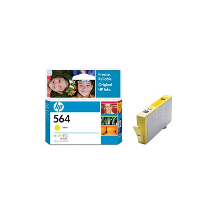 HP 564 Yellow CB320WA Original Ink Cartridge