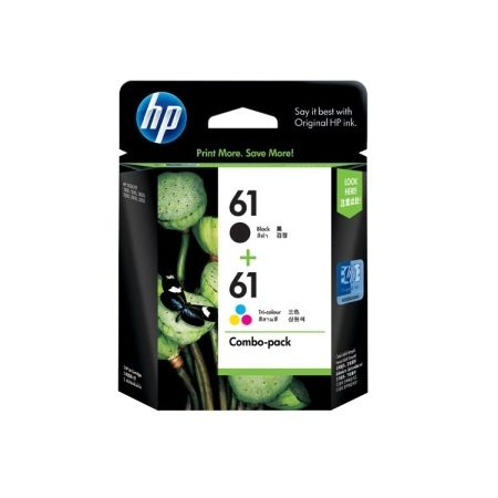 HP 61 Black Tri-Color CR311AA Combo-Pack Ink Cartri