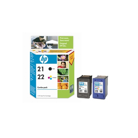 Hp 21-22 Combo Pack CC630AA Original Ink Cartridge