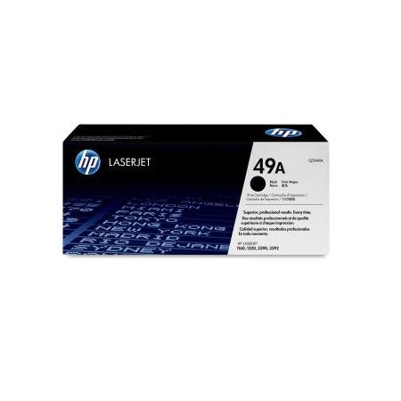 Hp 49A Black Laserjet Q5949A Toner Cartridge