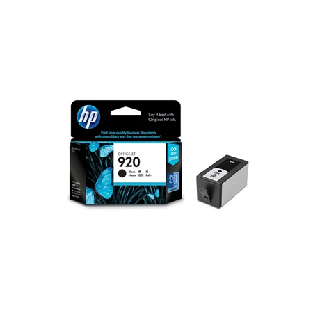 Hp 920 Black CD971AA Original Ink Cartridge