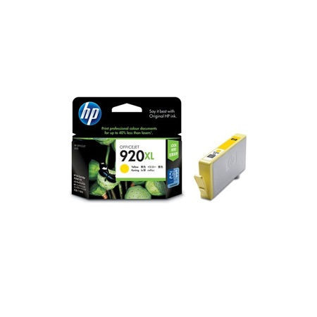 Hp 920XL Yellow CD974AA Original Ink Cartridge