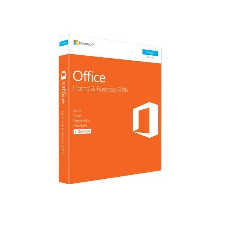 Microsoft Office Home and Business 2016 Retail Box Medialess P2