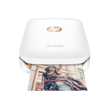 HP SPROCKET WHITE PHOTO PRINTER 1