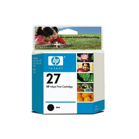 Hp 27 C8727AA BLACK INK CARTRIDGE