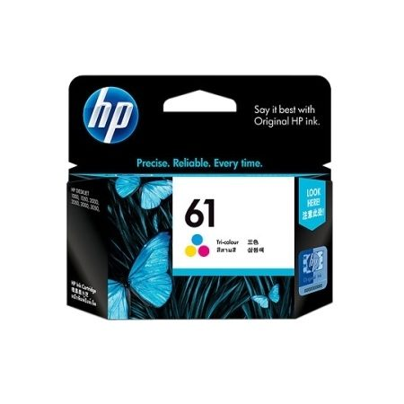 HP 61 Tri-Color SD550AA Ink Cartridge